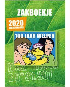 Zakboekje Welpen Jubileum editie