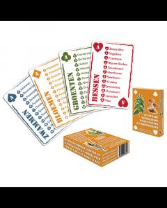 Speelkaarten: Eetbare wilde flora (2e druk)