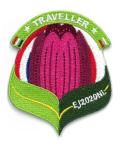 Troepbadge Europese Jamboree 2020 Traveller