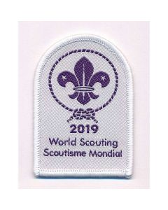 World Scout badge 2019