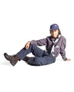 ScoutFit blouse luchtscouts (grijs)